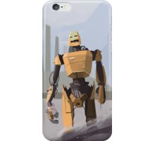 Scrapheap Skullbot. iPhone Case/Skin
