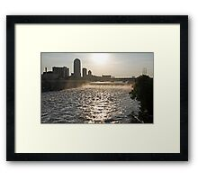 Mississippi and St. Anthony Falls Framed Print