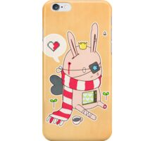 Bunny boy iPhone Case/Skin