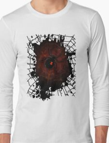 Black Widow (Signature Design) Long Sleeve T-Shirt