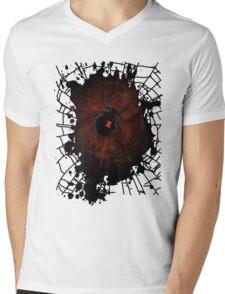 Black Widow (Signature Design) Mens V-Neck T-Shirt