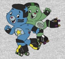 Roller Derby Care Bears  by altair4