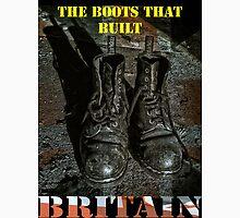 The Boots That Built Britain T-Shirt