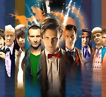 The Many Faces of 'The Doctor' by dudesamld