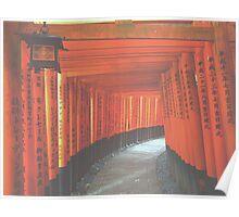 Torii Gates of Fushimi Inari Poster
