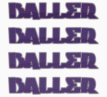 Purple Baller T-Shirt by Detroit Urban Designs