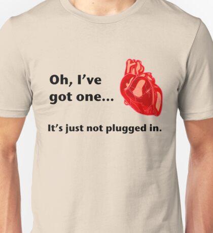 Heart - less Unisex T-Shirt