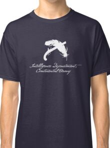 Intelligence Dept., Continental Army (White) Classic T-Shirt