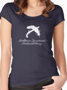 Intelligence Dept., Continental Army (White) Women's Fitted Scoop T-Shirt