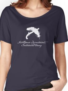Intelligence Dept., Continental Army (White) Women's Relaxed Fit T-Shirt