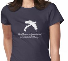 Intelligence Dept., Continental Army (White) Womens Fitted T-Shirt
