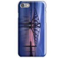 Forth Rail Bridge (Small) Purple Sunrise iPhone Case/Skin