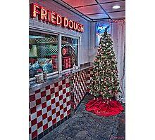 Maine Beach Food Christmas Photographic Print