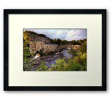 Aysgarth Mill Framed Print