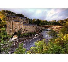 Aysgarth Mill Photographic Print