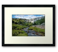 Malham Cove Framed Print
