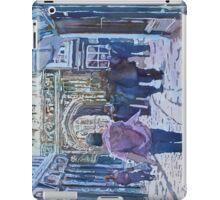 Pilgrims at the Gate iPad Case/Skin