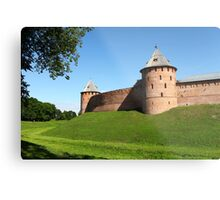 Fortress wall Metal Print