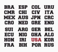 FOOTBALL USA 2014 One Piece - Short Sleeve