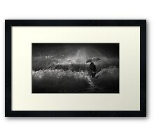 Winter Rain Framed Print