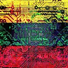circuit board  lithuania (flag) by sebmcnulty