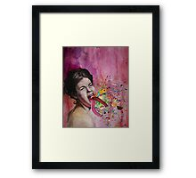 Throwing Up All Kinds Of Fun Framed Print