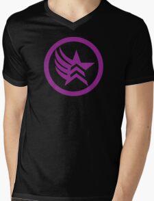 Mixed Alignment  Mens V-Neck T-Shirt