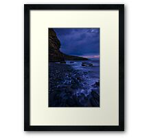 Dunraven bay at first light Framed Print