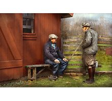 Country - The farm hands Photographic Print