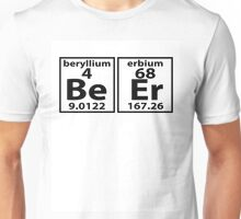 Beer Periodic Table Style Unisex T-Shirt