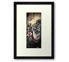 Within The Still Of Contemplation Framed Print