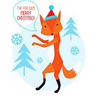 The Fox says Merry Christmas!!! by Mila Murphy