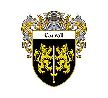 Carroll Coat of Arms/Family Crest Photographic Print