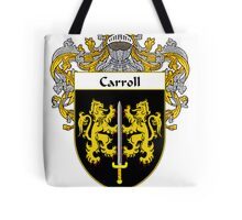 Carroll Coat of Arms/Family Crest Tote Bag