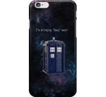 Doctor Who - Bringing Sexy back! iPhone Case/Skin