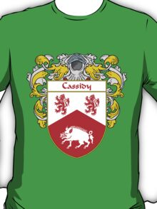 Cassidy Coat of Arms/Family Crest T-Shirt