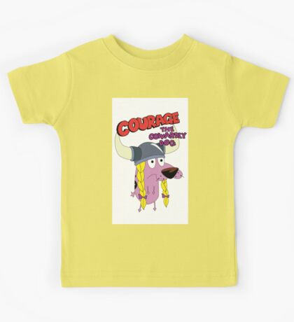 courage the cowardly dog Kids Tee