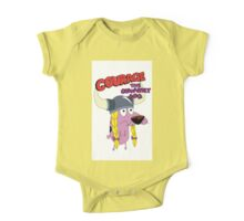 courage the cowardly dog One Piece - Short Sleeve