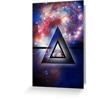 All Seeing Eye of the Galaxy Greeting Card