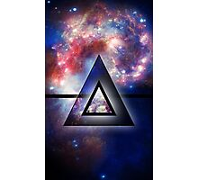 All Seeing Eye of the Galaxy Photographic Print