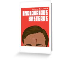 Inglourious Basterds Greeting Card