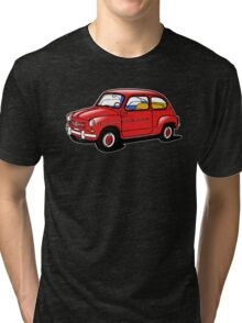 fiat 600 red Tri-blend T-Shirt