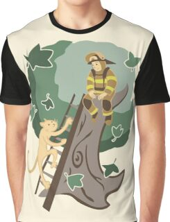 Stuck in a Tree Graphic T-Shirt