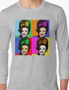 Dolly Parton pop art. Nashville Country Music Long Sleeve T-Shirt