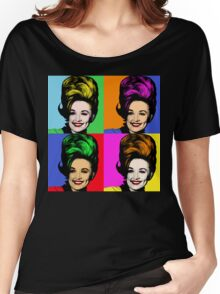 Dolly Parton pop art. Nashville Country Music Women's Relaxed Fit T-Shirt