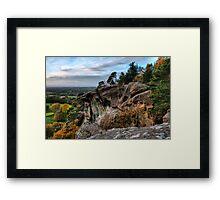 Hawksone Park Framed Print