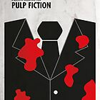 Pulp Fiction Minimal Film Poster by quimmirabet