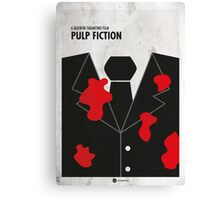 Pulp Fiction Minimal Film Poster Canvas Print