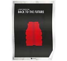 Back to the Future Minimal Film Poster Poster