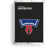 Ghostbusters Minimal Film Poster Canvas Print
